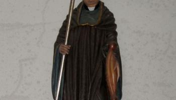 Löffingen: St.-Michael, Gallusfigur