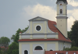 Kirche von Murnau heute