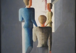 IMG_1365 Oskar Schlemmer - Vier Figuren und Kubus (1929)