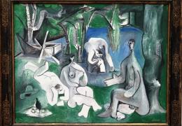 IMG_1381 Pablo Picasso - Das Frühstück im Freien (1961)