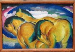 IMG_1383 Franz Marc - Die kleinen gelben Pferde (1912)