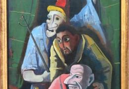 IMG_1370 Karl Hofer - Böse Masken (1934)