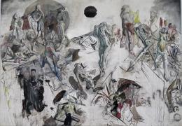 IMG_1375 Max Beckmann - Auferstehung (1916)